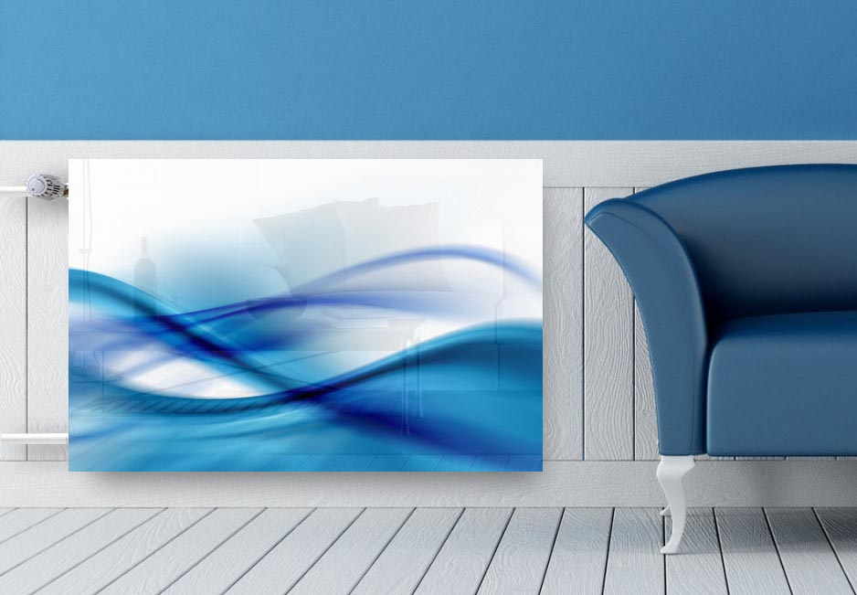 sklenený kryt radiátorov