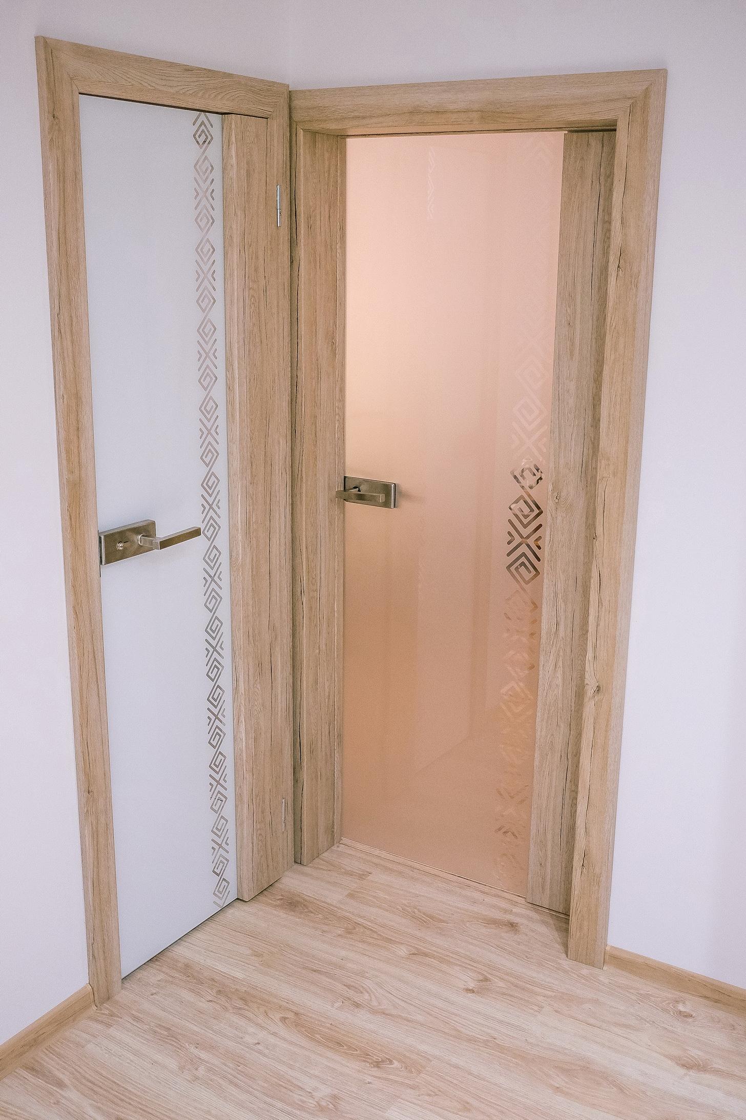 interiérové sklenené dvere čičmany