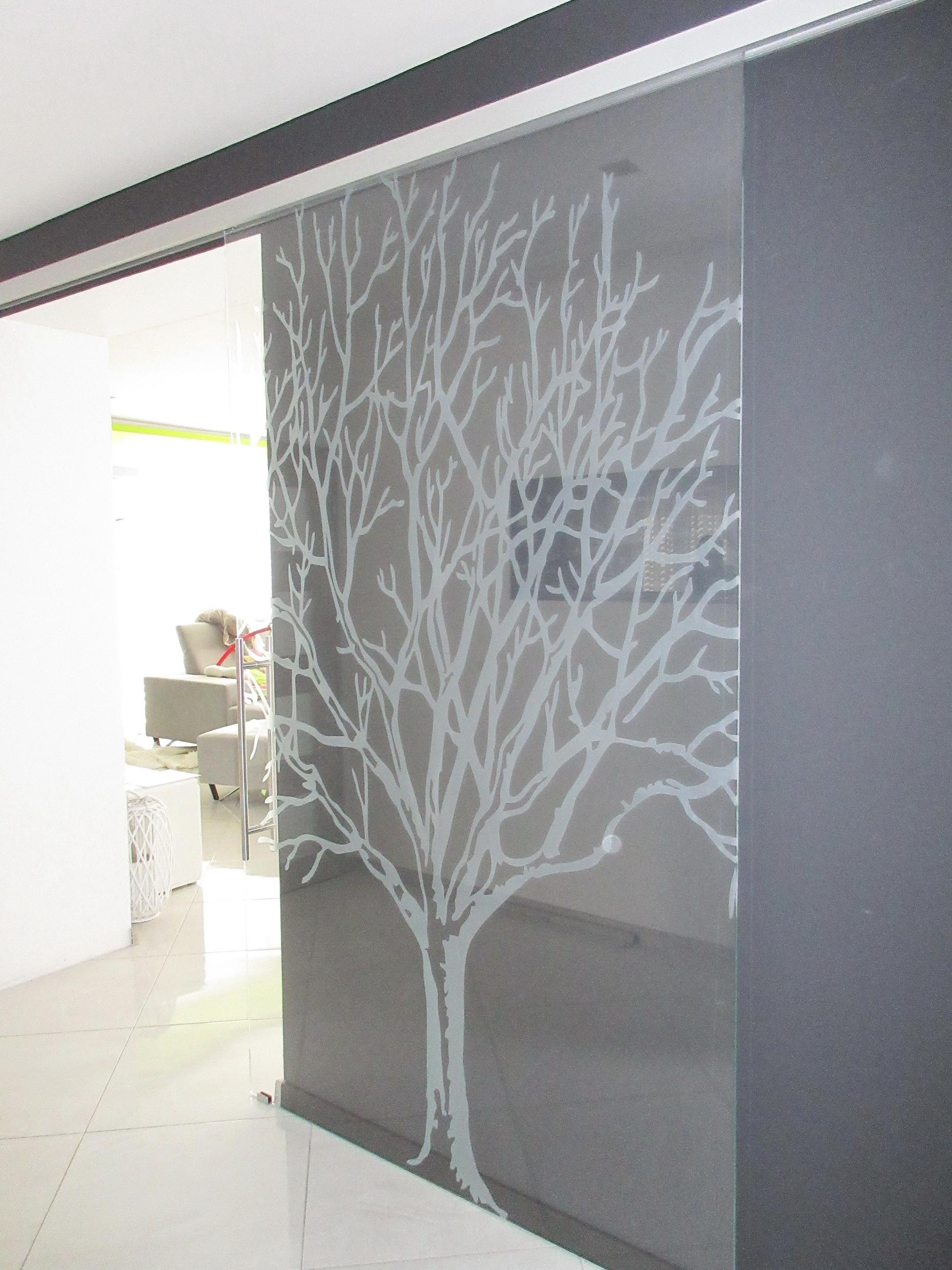 sklenené posuvné dvere DGG-45