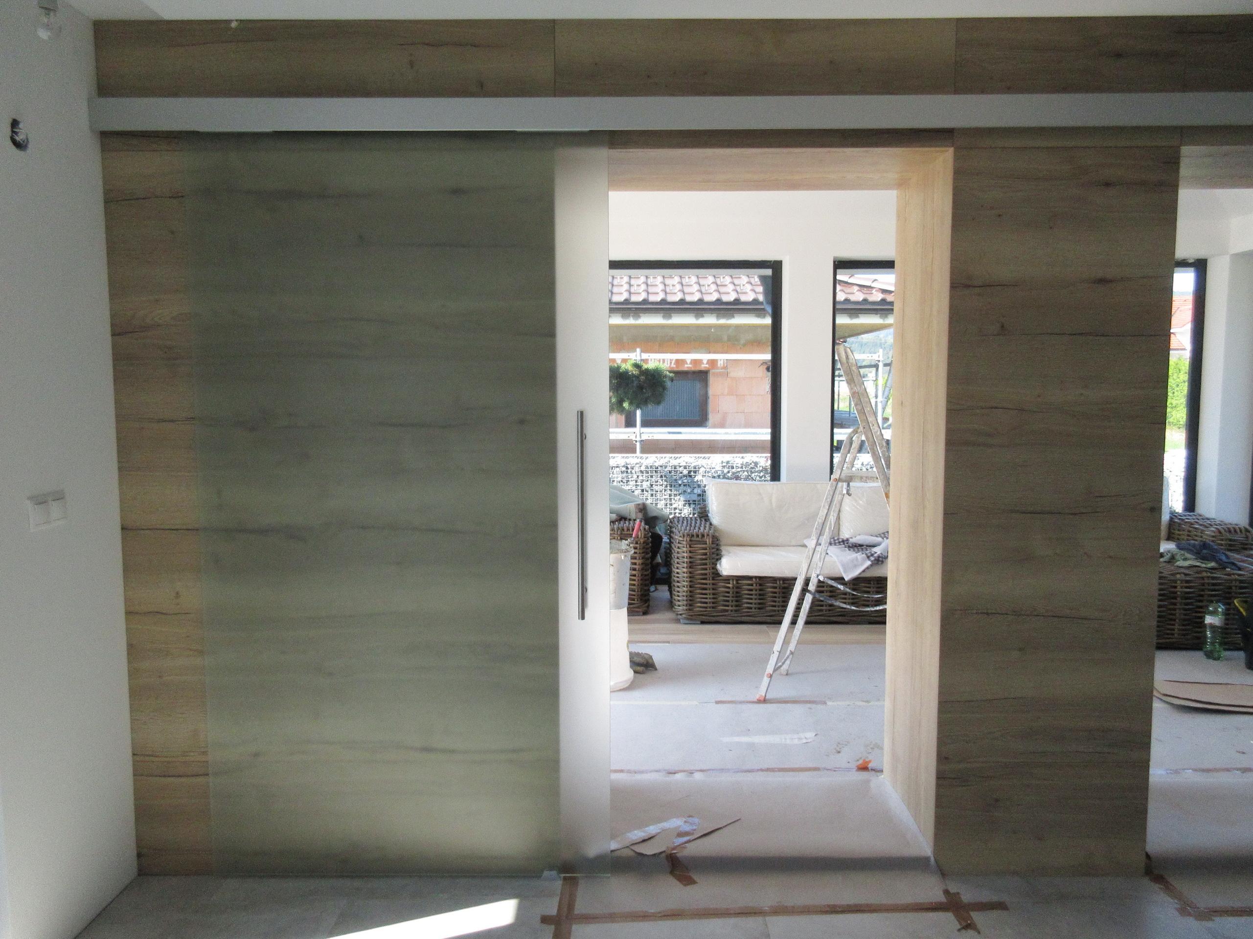 sklenené posuvné dvere GG-101