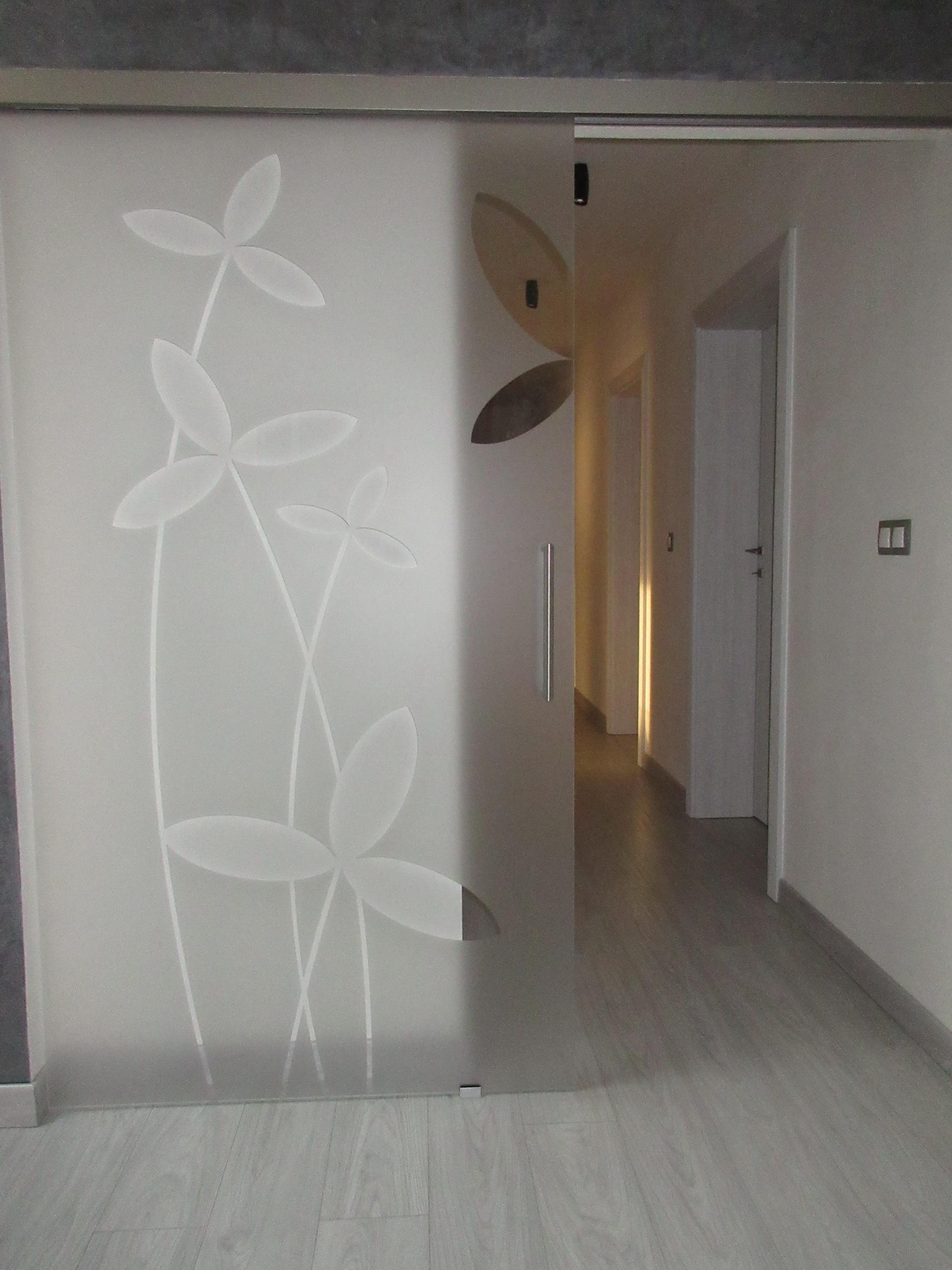 sklenené posuvné dvere GG-18