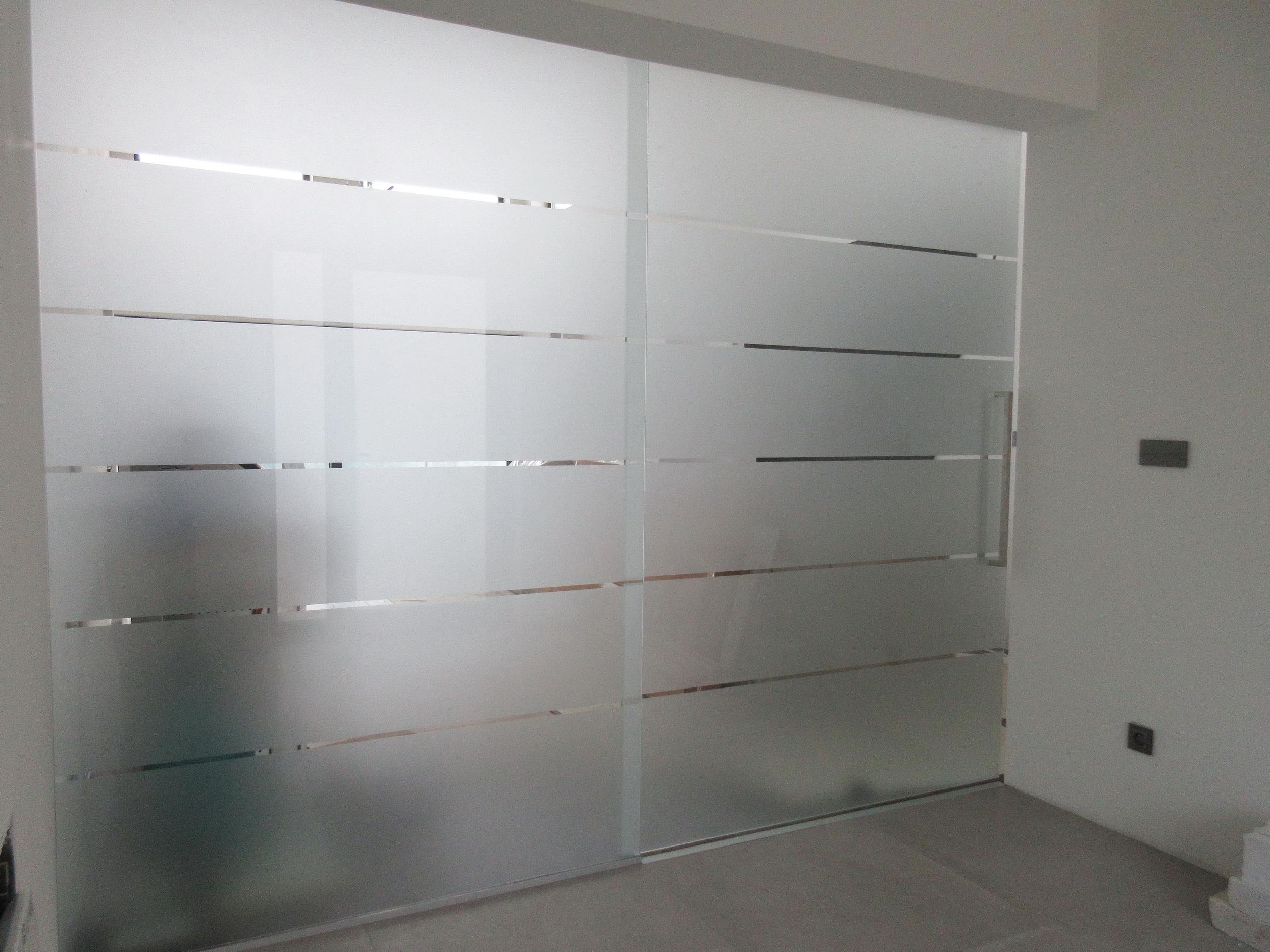 sklenená stena GG-22